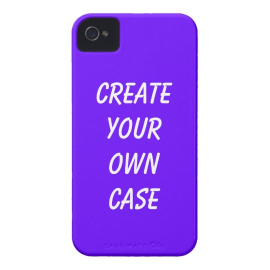 Purple create your own case