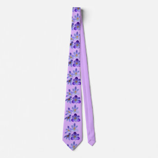 Purple crocuses 02.2 tie