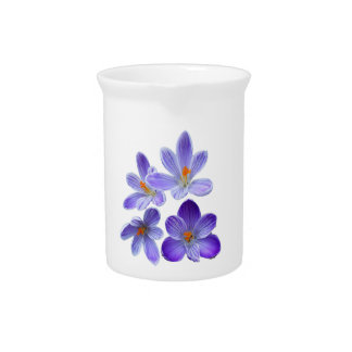 Purple crocuses 02 pitcher