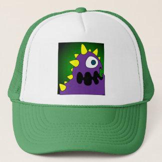PURPLE CRUNCHER TRUCKER HAT