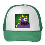 PURPLE CRUNCHER TRUCKER HATS