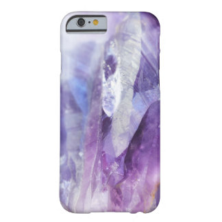 Purple Crystals Barely There iPhone 6 Case