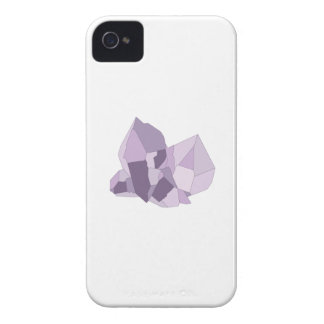 Purple Crystals Case-Mate iPhone 4 Cases