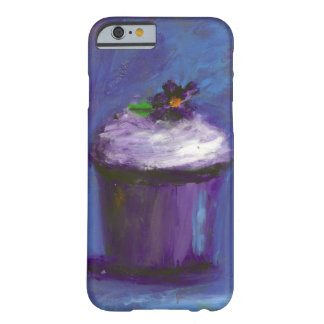 Purple cupcake case barely there iPhone 6 case