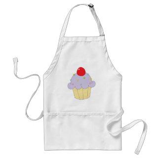 Purple Cupcake Standard Apron
