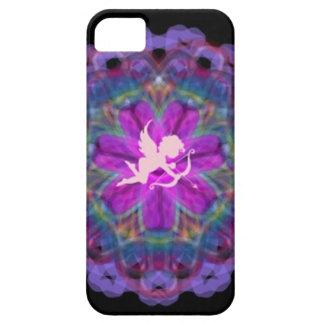 Purple Cupid Kaleidoscope Iphone 5 Case