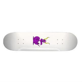 Purple Cute Dragon Skate Decks