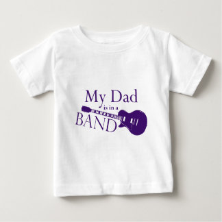 Purple Dad is in a Band Tshirt