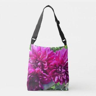 Purple Dahlia Flower Bag Tote Bag