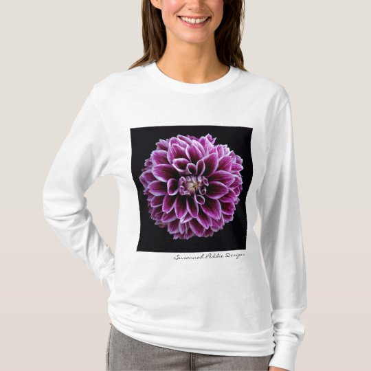 Purple Dahlia Shirt