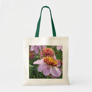 Purple Dahlia Tote Budget Tote Bag