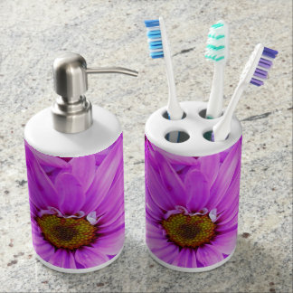 Purple Daisies - Bath Set