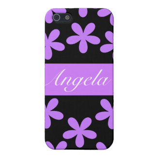 Purple Daisies Hard Shell Case for iPhone 4/4S iPhone 5/5S Cover
