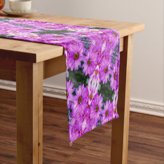 Purple Daisies - Table Runner