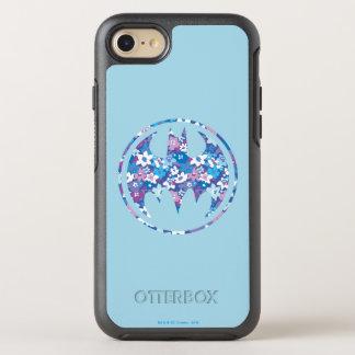 Purple Daisy Bat Signal OtterBox Symmetry iPhone 8/7 Case