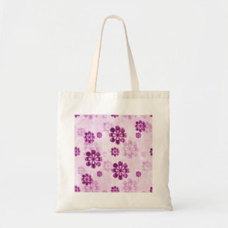 Purple Daisy Floral Grunge Pattern Bag