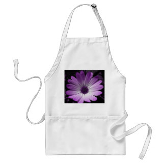 Purple Daisy Flower Apron