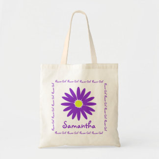 Purple Daisy Flower Girl