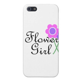 Purple Daisy Flower Girl iPhone 5 Covers