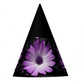 Purple Daisy Flower Party Hat