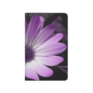 Purple Daisy Flower Recipe Journal