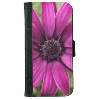 Purple Daisy iPhone 6 Wallet Case