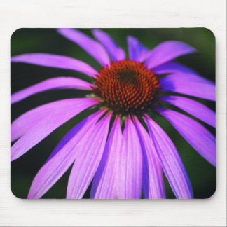 Purple Daisy Mouse Pad