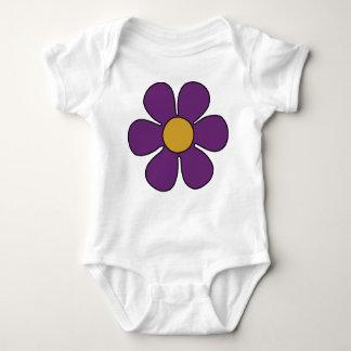Purple Daisy Onsie Baby Bodysuit