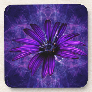 Purple Daisy Passion Beverage Coasters