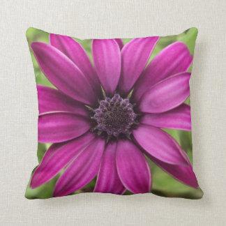 Purple Daisy Polyester Pillows