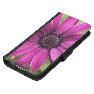 Purple Daisy Samsung Galaxy S5 Wallet Case