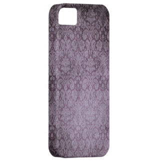 Purple Damask iPhone 5 Case