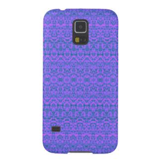 Purple Damask Samsung Galaxy S5 Case