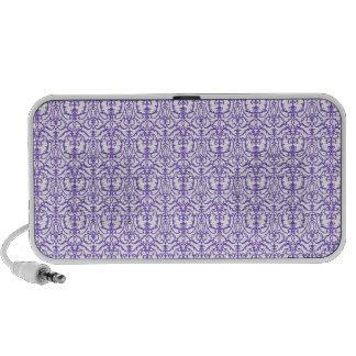 Purple Damask Speaker System
