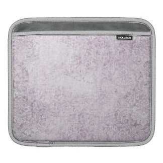 Purple Damasks Faded pattern Sleeves For iPads