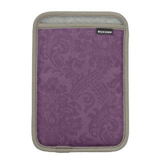 Purple DAmasks Pattern Background iPad Mini Sleeves