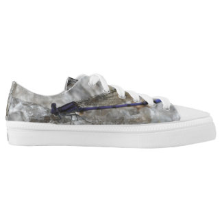 Purple Damselfly Dragonfly Nature Printed Shoes
