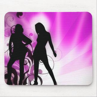 Purple Dance Mouse Pad