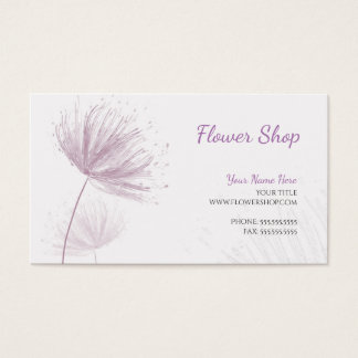 Purple Dandelion Business Card