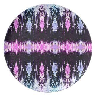 Purple Dazzle Plates