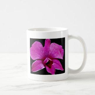 Purple dendrobium  flowers mugs