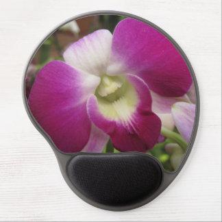 Purple Dendrobium Orchid Mousepad Gel Mouse Pad