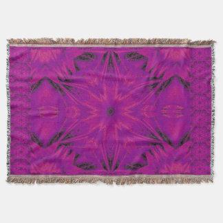 Purple Desert Song 44 Throw Blanket