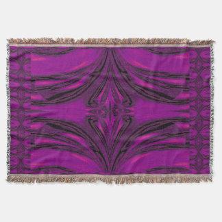 Purple Desert Song 6 Throw Blanket