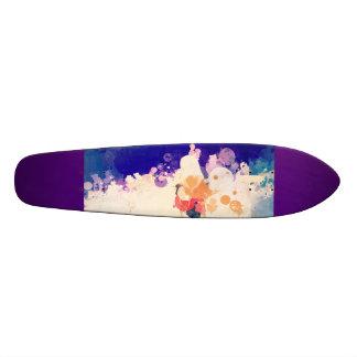 Purple Design Skateboard