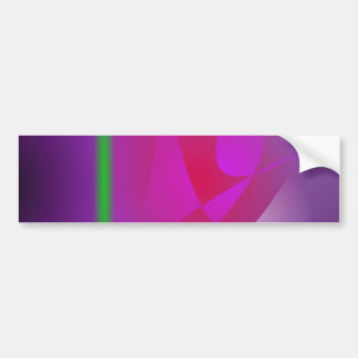 Purple Dharma Car Bumper Sticker