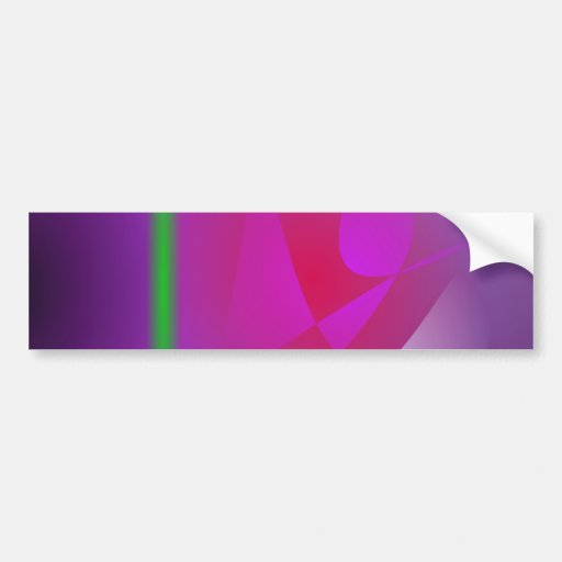 Purple Dharma Bumper Stickers