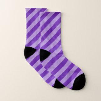 Purple Diagonal Stripe Pattern 1