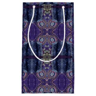 purple diamond gift bag