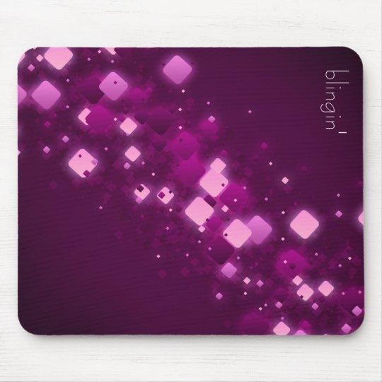 Purple Diamonds + blingin' mousepad